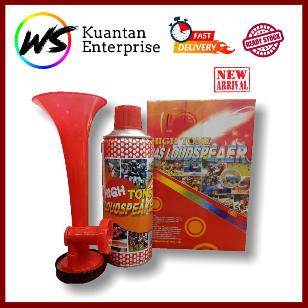 【100% Ready Stock】High Tone Gas Loudspeaker Air Horn Set - 450ml