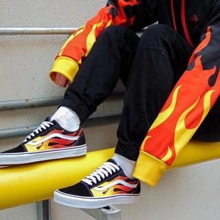 scarpe vans flame