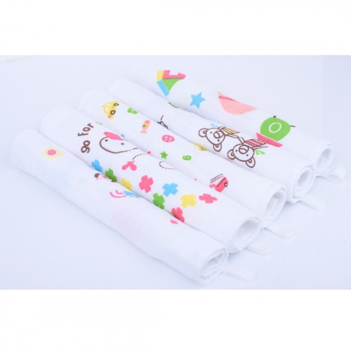 Muslin Squares 100/% Cotton 75 x 75 cm Pack of 4 Bumble Bees
