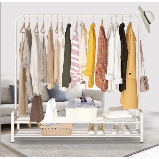 KTY XL Size 3 in 1 RAK BAJU Clothes Rack Hanging Organizer Rack PENYANGKUT BAJU Rak Penyidai Baju Rack(150CM)