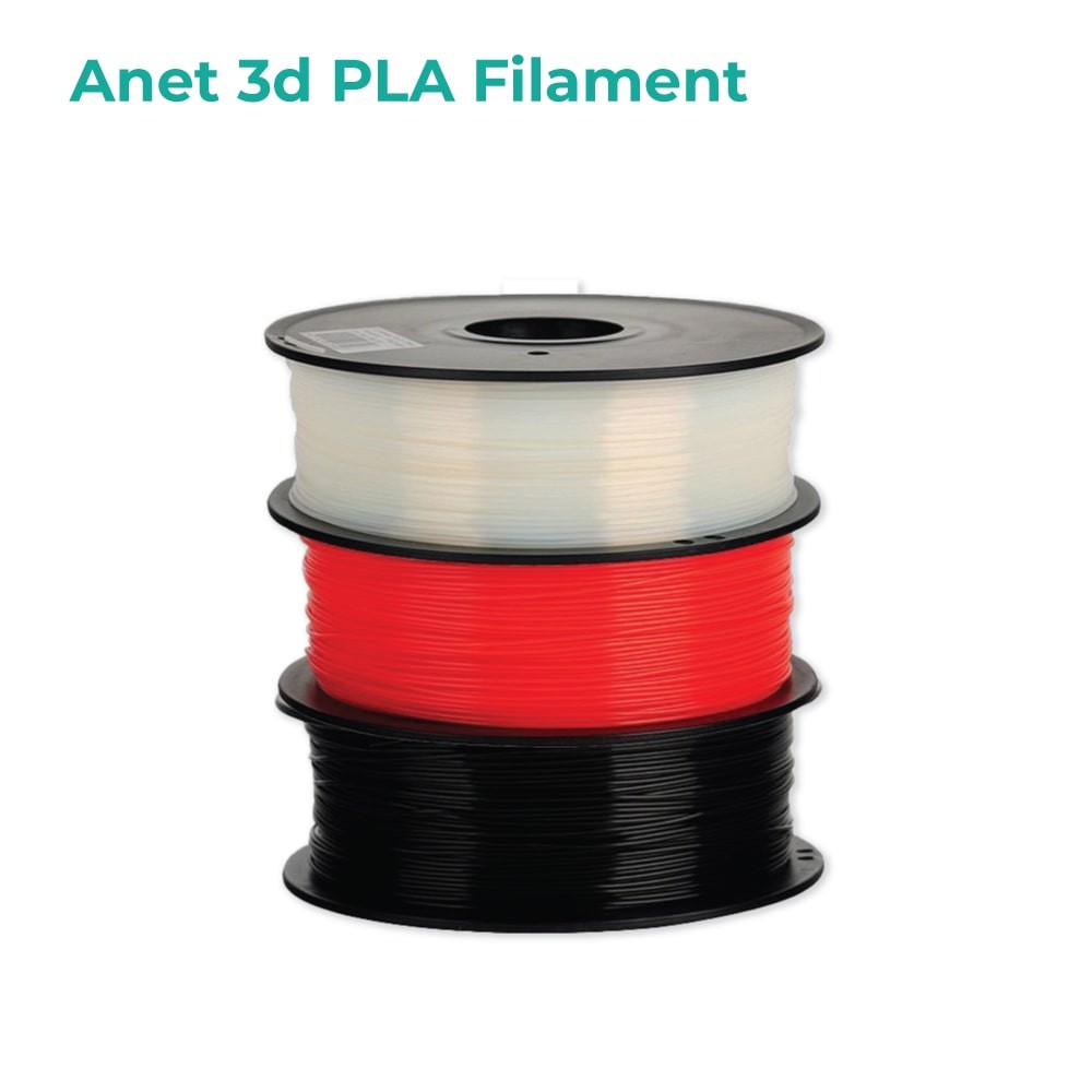 Anet ET4 All-Metal 3D Printer With Industrial Grade Chipset + 2x White PLA
