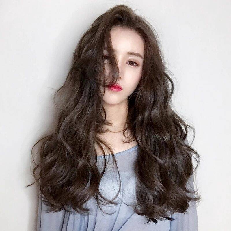 Image result for long wavy hair