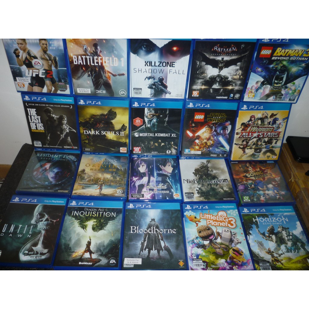 PS4 Games Region 3/R3 Used/New