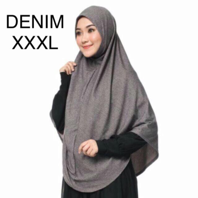 SIZE 3XL - TUDUNG LABUH SARUNG INSTANT DENIM BERDAGU | Shopee Malaysia
