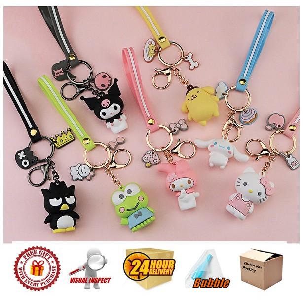 Hello Kitty Keychain Hello Kitty and Friends