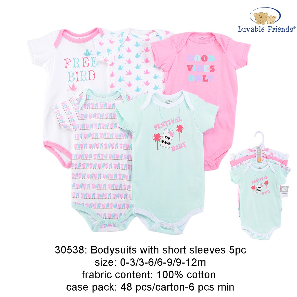 eac69f0fc6f Luvable Friends New Born Baby Hat 5pk BaseBall - 34573