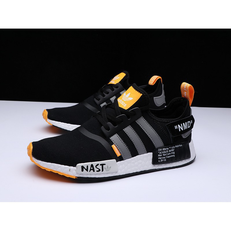*superbrand* Ready Adidas NMD knit fly line Off WHITE joint 36 44