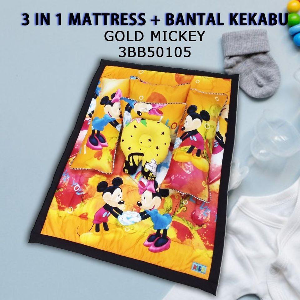 OFFER 💥 Set Bantal Baby Kekabu Forter Baby Bedding Travel Mattress