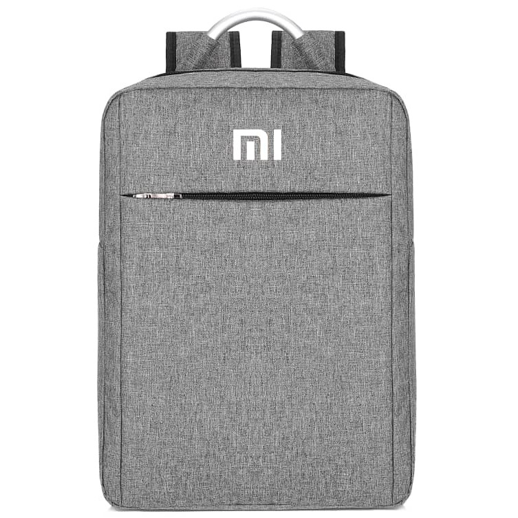 Laptop Bag Backpack Grey Color Mi Realme Samsung