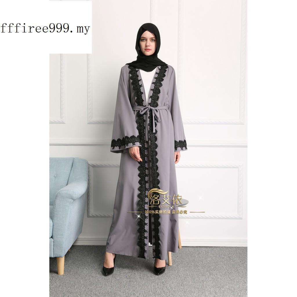 Robe Musulmane Abayas Muslim Women Dress Pictures Stitching Cardigan  Himation  9e7dec212d1b
