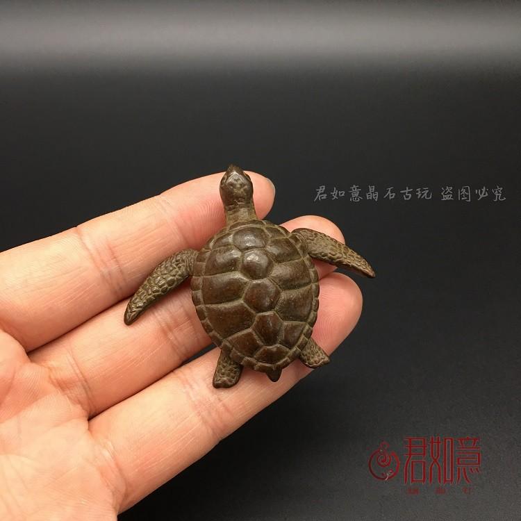 D Copper Turtle Large Sea Turtle Small Decoration Tea Pet Copper Handles Woyam00 Shopee Malaysia