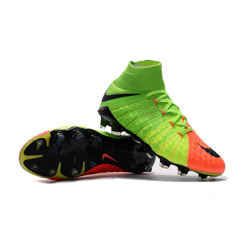 62409d711 Original NIke Hypervenom Phantom III FG football shoes