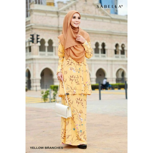 Sabella Limited Edition Kurung Queeny  (S,M,L,XL,2XL) [Ready Stock]