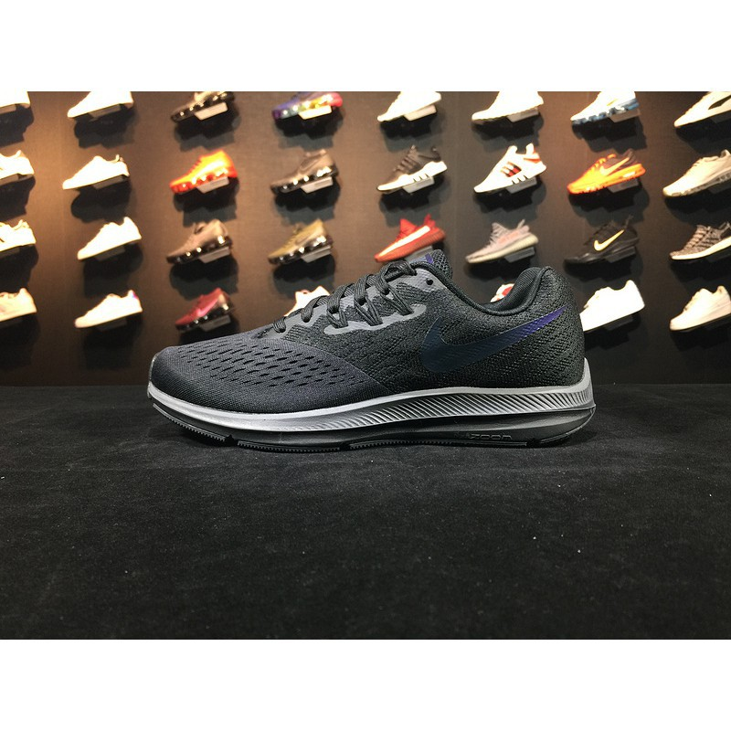 the best attitude 784fc 92fd5 Original Nike Zoom Winflo 4 Men Women Running Sport Shoes Sneakers 898467  001