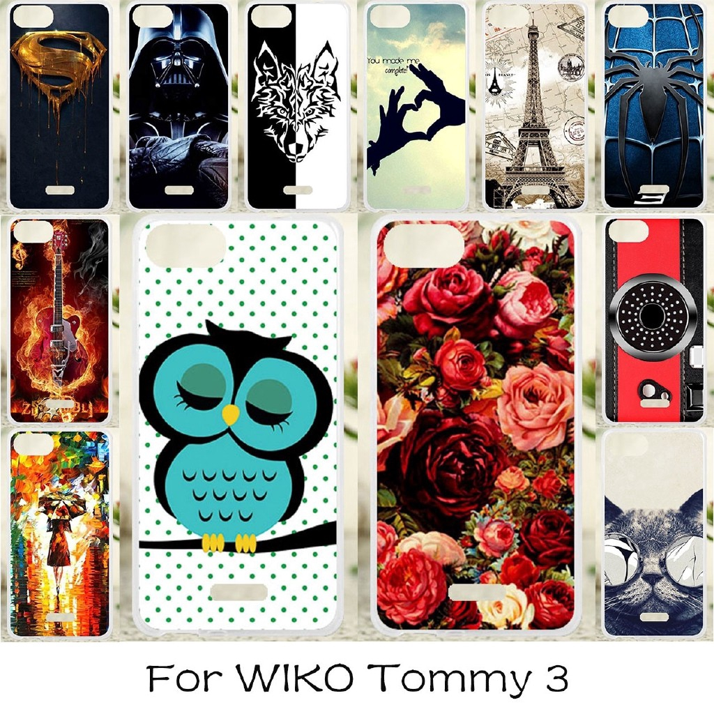 Wiko Tommy 3(5 5) Cover Phone Case Soft Cases Silicone Covers