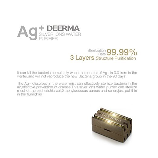 Deerma Silver Ion Ag+ Air Cleaner Water Filter For Air