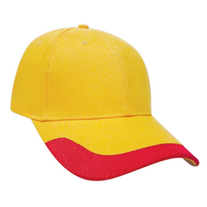 [READY STOCK] Baseball, Unisex 6 Panels Cotton Brush Cap with Polyester - 15 colors
