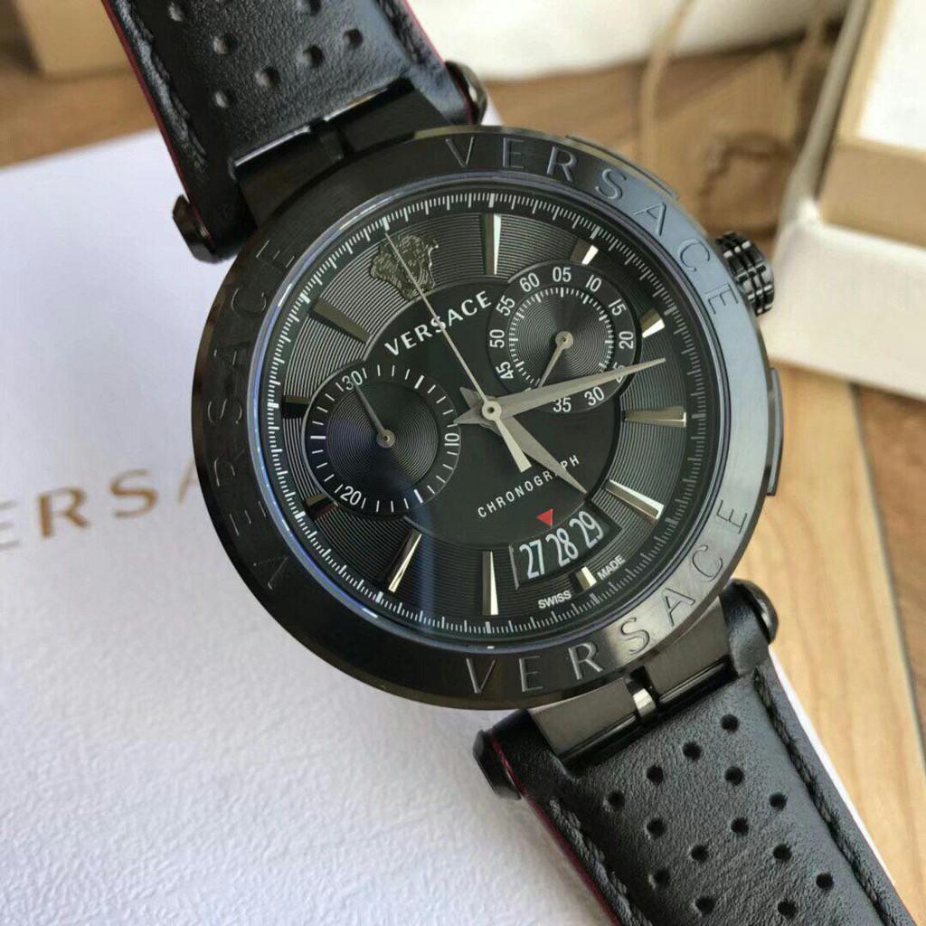 4ee1694a9 Versace V-Race Diver Watch VAK020016 Man Original | Shopee Malaysia