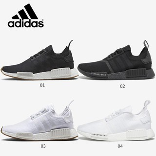 531428b47df4f   Ready Stock 4color ori Adidas NMD Boost R1 PK Running shoes Women Men Sne