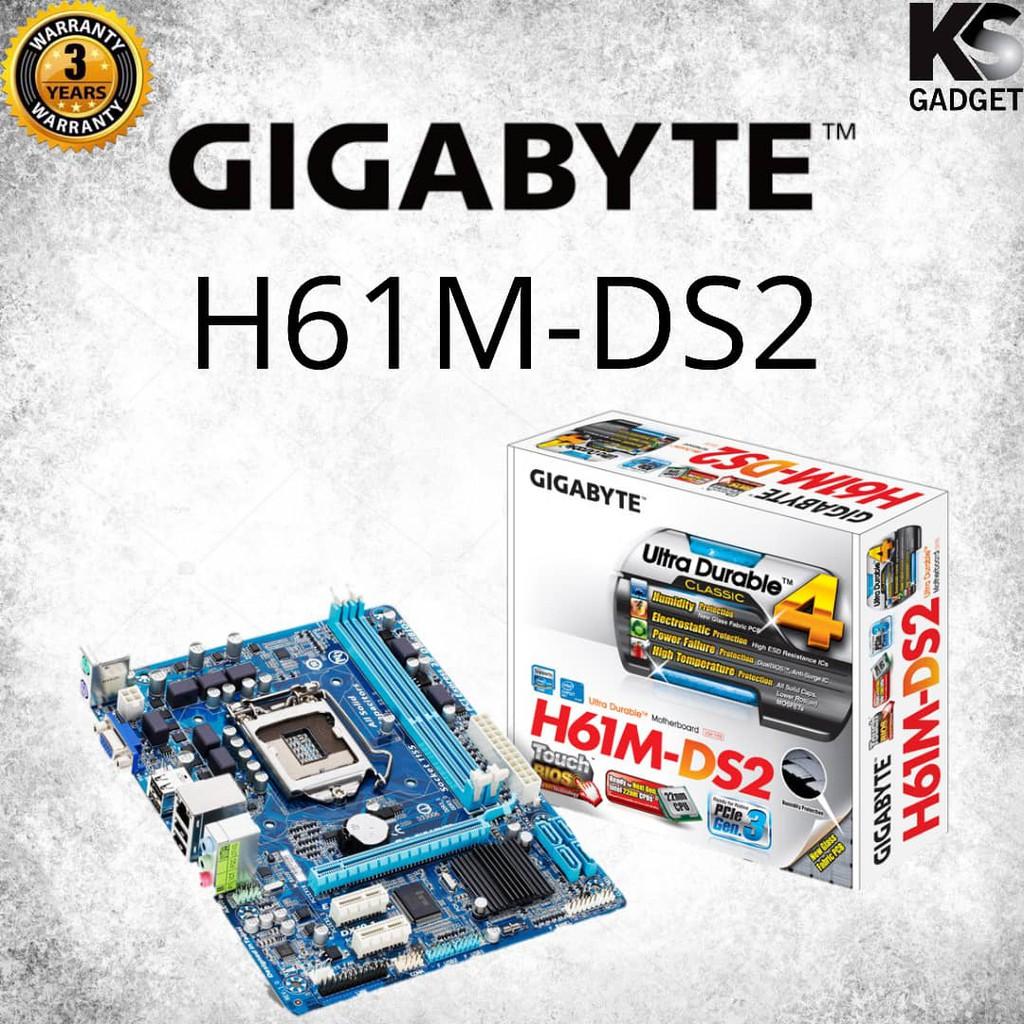 GIGABYTE M/B GA-H61M-DS2