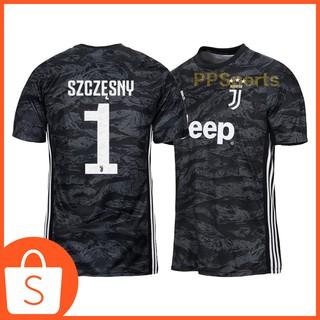 best sneakers 42d06 4f665 Juventus 19/20 Goalkeeper Black Football Jersey Top Quality ...