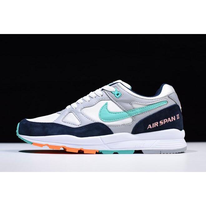 Deformar Idealmente dígito  Nike Air Span II Wolf Grey/Kinetic Green AH8047-006 | Shopee Malaysia