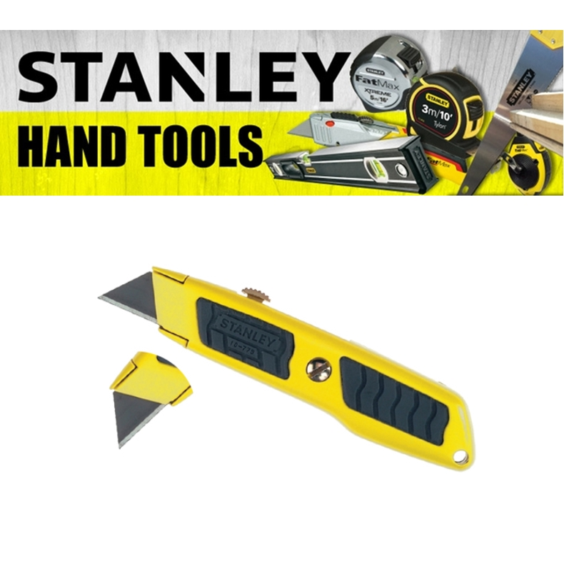 STANLEY DYNA GRIP RETRACTABLE UTILITY KNIFE 10-779 CUTTING TOOLS