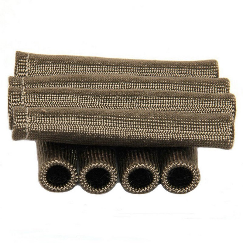 Titanium Spark Plug Wire Boots Heat Protector Sleeve,2500 Degree Cover Wrap 8pcs