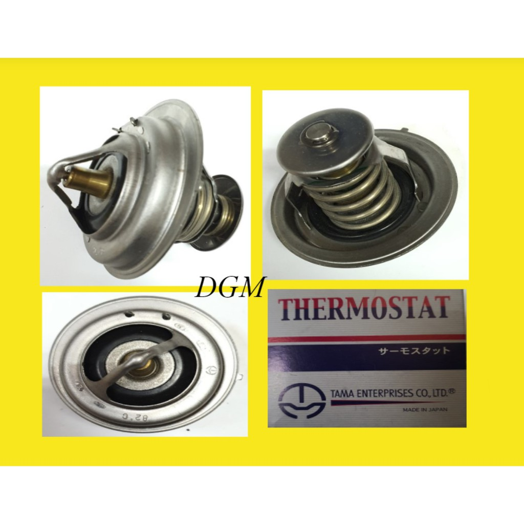 MItsubishi Canter Fuso FE639 FE71PE FE83PE 4D34 Thermostat (WV75M-82A) Made In Japan