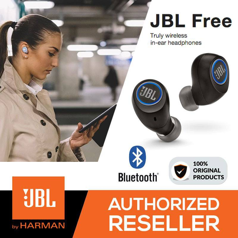 28fd9f188bf Original JBL Free Truly Wireless Bluetooth In-Ear Sports Gym Headphone  Earbud | Shopee Malaysia