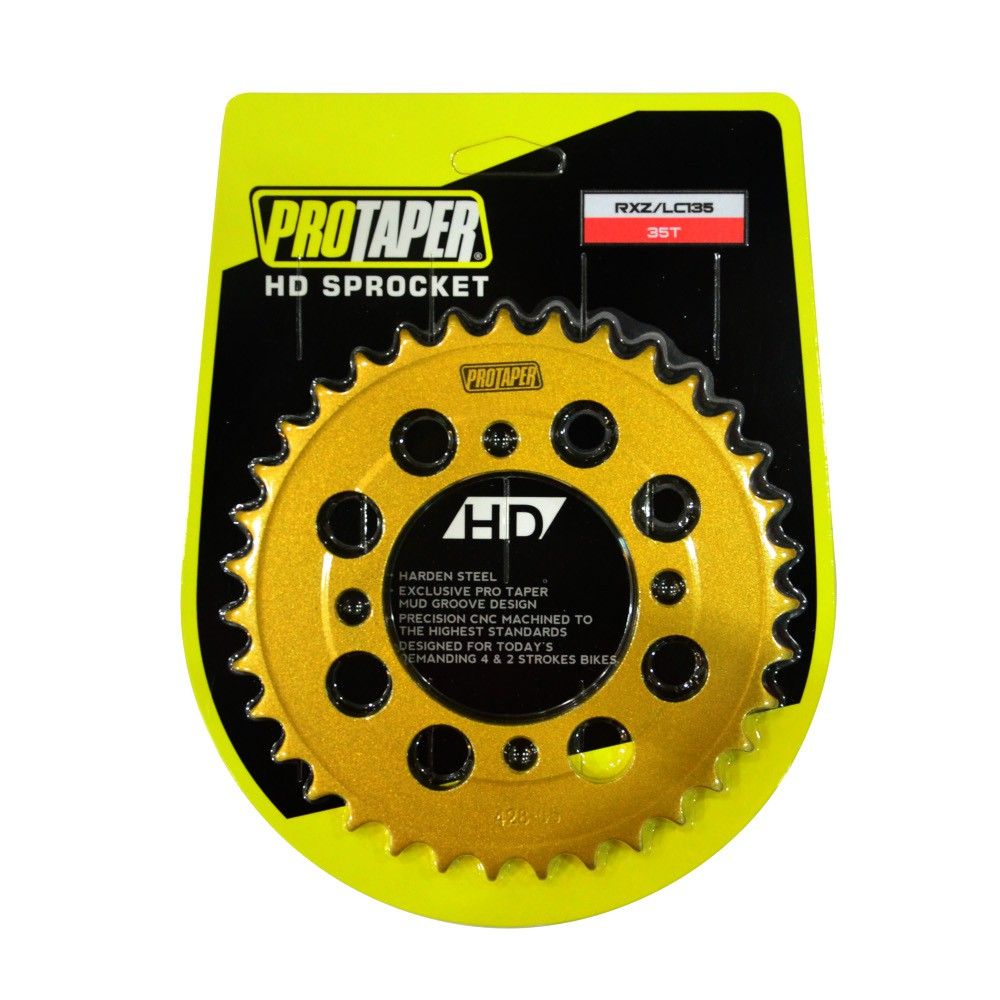 PROTAPER 428 (33T - 39T) RXZ / LC135 REAR SPROCKET