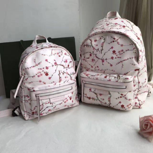 NEW ARRIVAL Longchamp Le Pliage Neo Fantaisie Sakura Backpack (small    large)  0236e15a90ef6