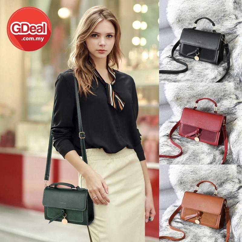 GDeal Women Korean Fashion Messenger Bag Simple Leisure Small Square Sling Bag Beg Wanita بيڬ وانيتا