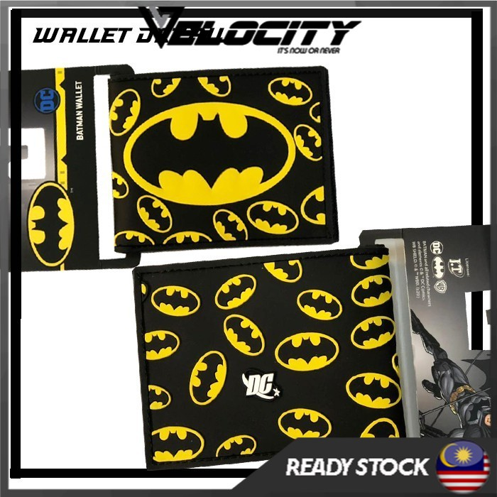 Batman Card Wallet Original DC Card Wallet Original PU Leather Wallet