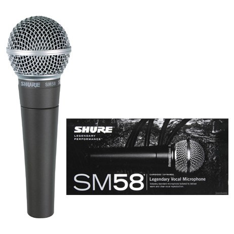 SHURE SM58LC WIRED DYNAMIC MICROPHONE