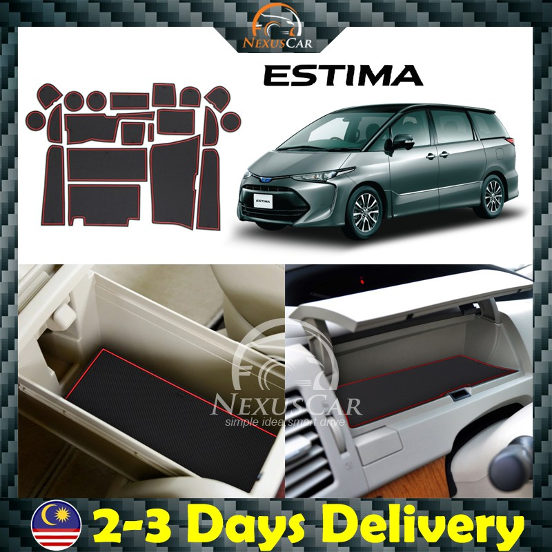 Toyota Estima ACR50 / Previa 2006-2012 Car Interior Slot Mat