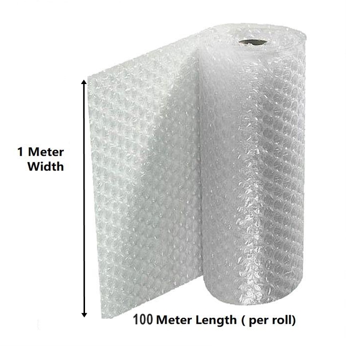 Bubble Wrap Single Layer 1 Meter