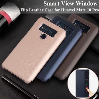 disponibilità nel Regno Unito 7067b bfb86 Original Huawei Mate 10 Pro/Mate 10/P10/P10 Plus Smart Case Flip Cover