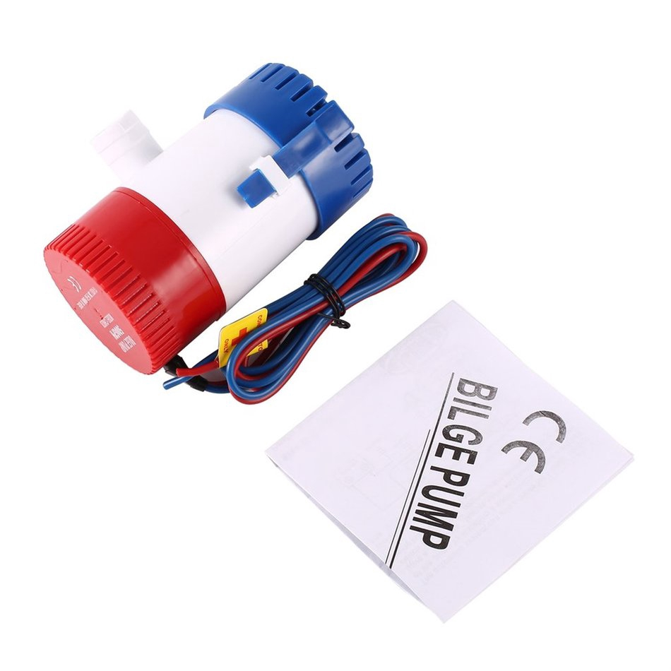 Tools 12v Electric Bilge Pump Dc Pump Yacht Marine Fish Dive Boat Electric Bilge Pump Free Shipping Big Clearance Sale