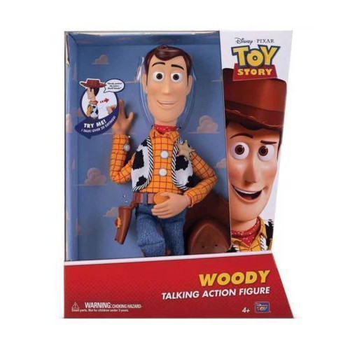 Talking Disney Pixar Toy Story 20th Anniversary Woody Sound Play Figure Doll Toy