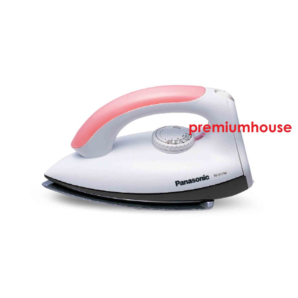 Panasonic Iron NI-317W (1000W) Polished Dry Iron