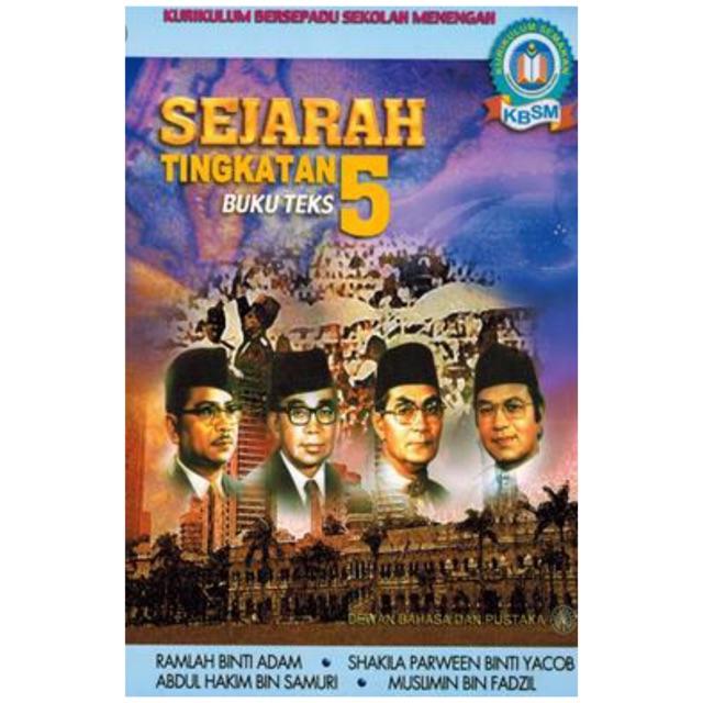Buku Teks Sejarah Tingkatan 5 Shopee Malaysia