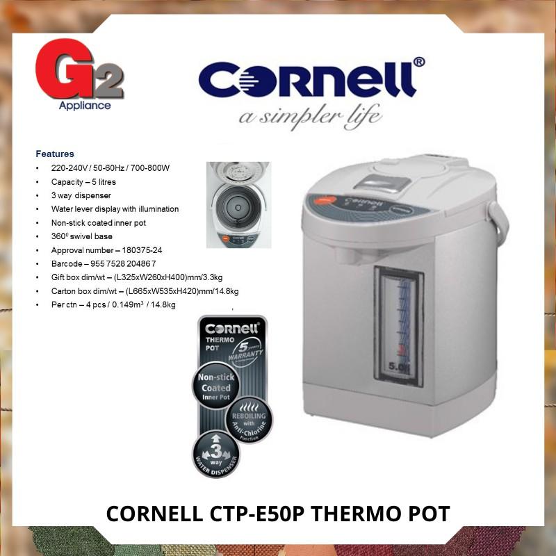 Cornell CTP-E50P Thermo Pot