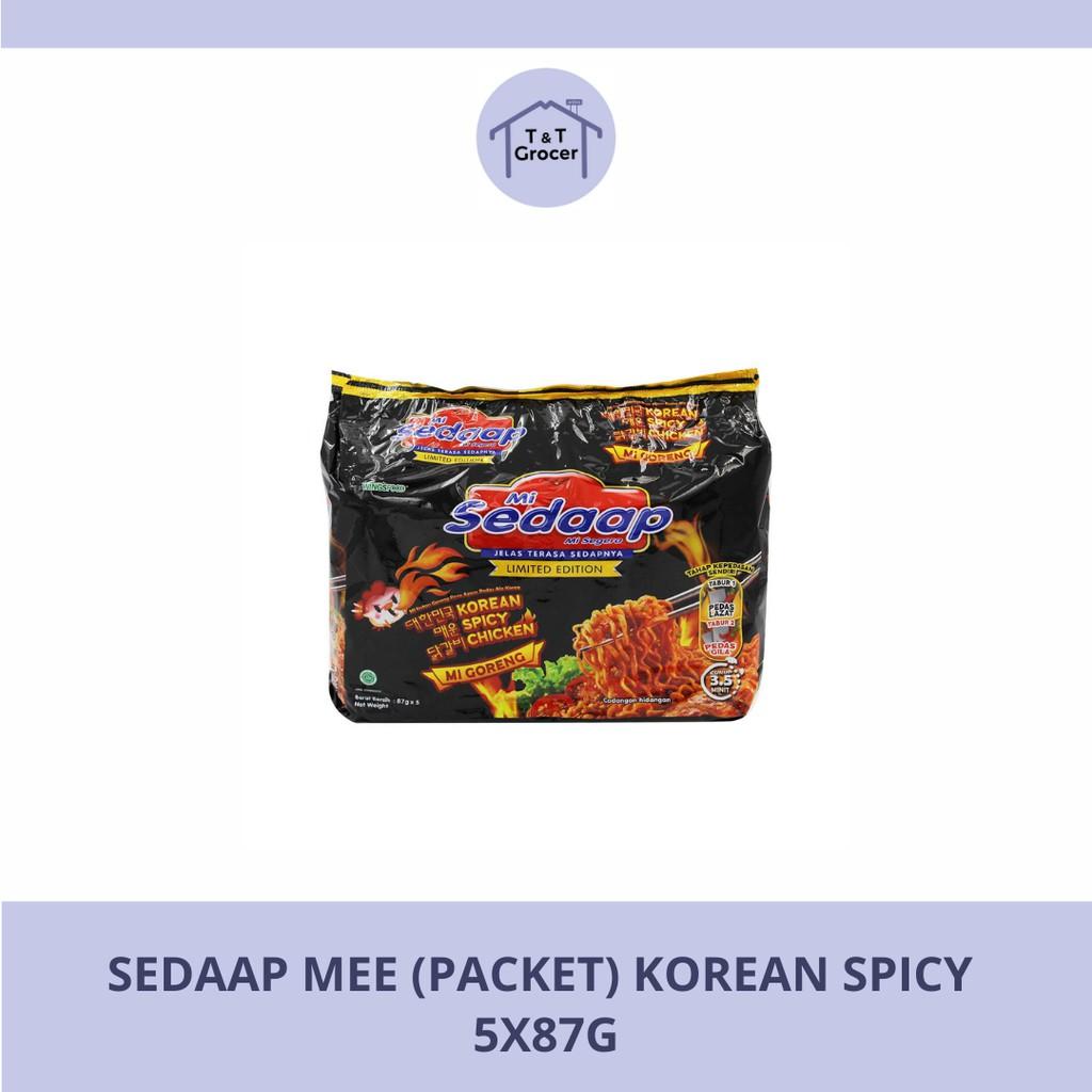 Sedaap Mee Goreng  Korean Spicy (5x87g)