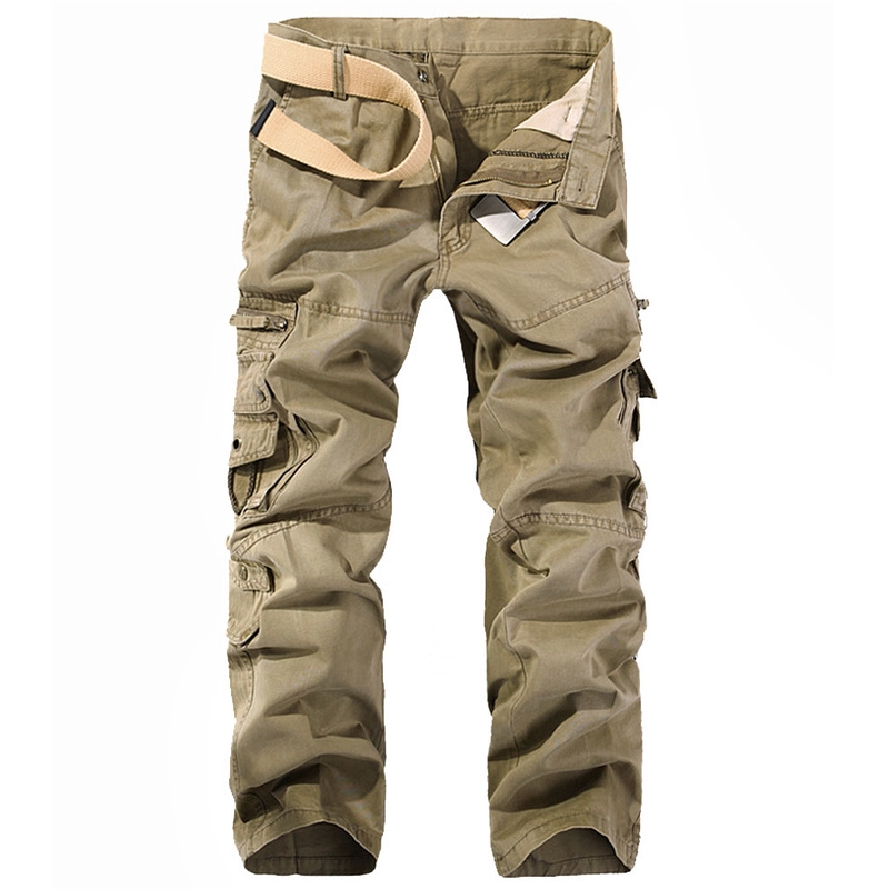Men Spring Sport Outdoor Pants Male Trekking Hiking&Camping Trousers With Multi-Pockets Plus Size Climbing Cargo Pants