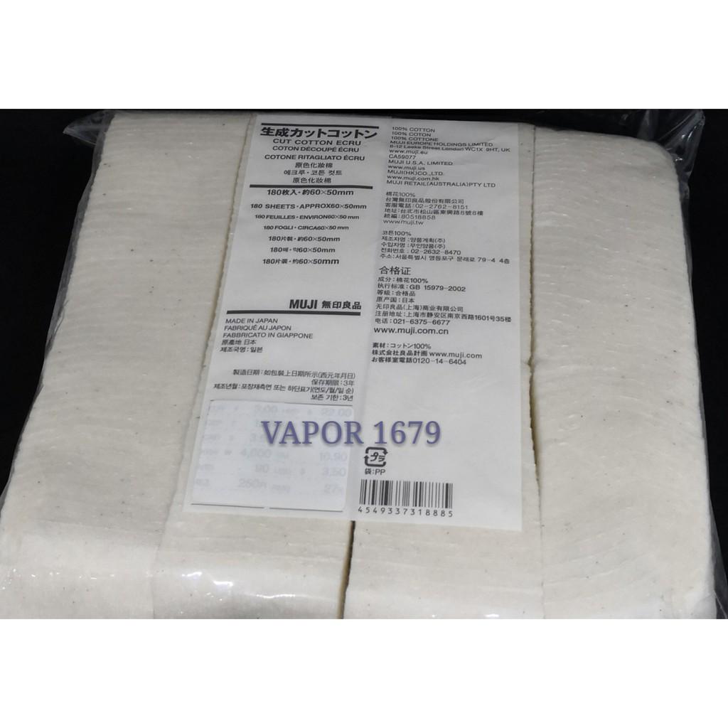 Original Muji Cotton Organic Vape 1 Pack 5 Pcs Best Recoil Kapas Flava Not Atomix Or Bacon 60x50mm Shopee Malaysia