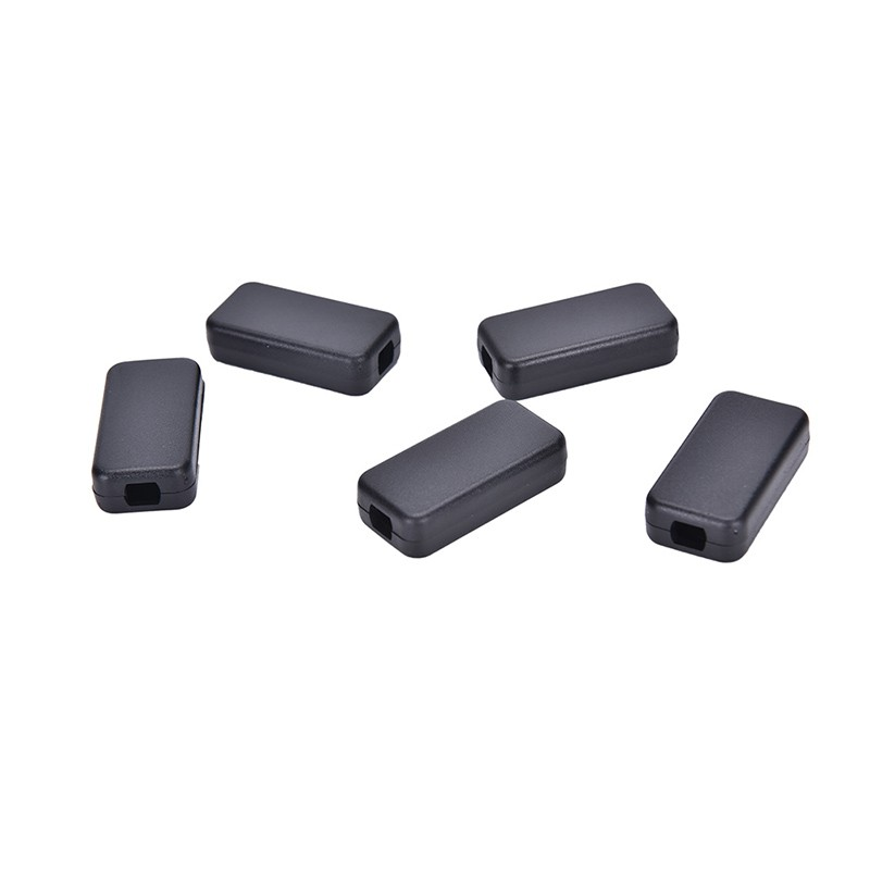 5pcs Electric Plastic Black Waterproof Case Project Junction Box 40*20*11mm YJNN