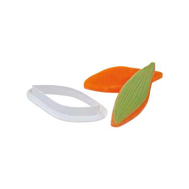 Martellato, Cake Art Cutter, Leaf 008, 3 pc