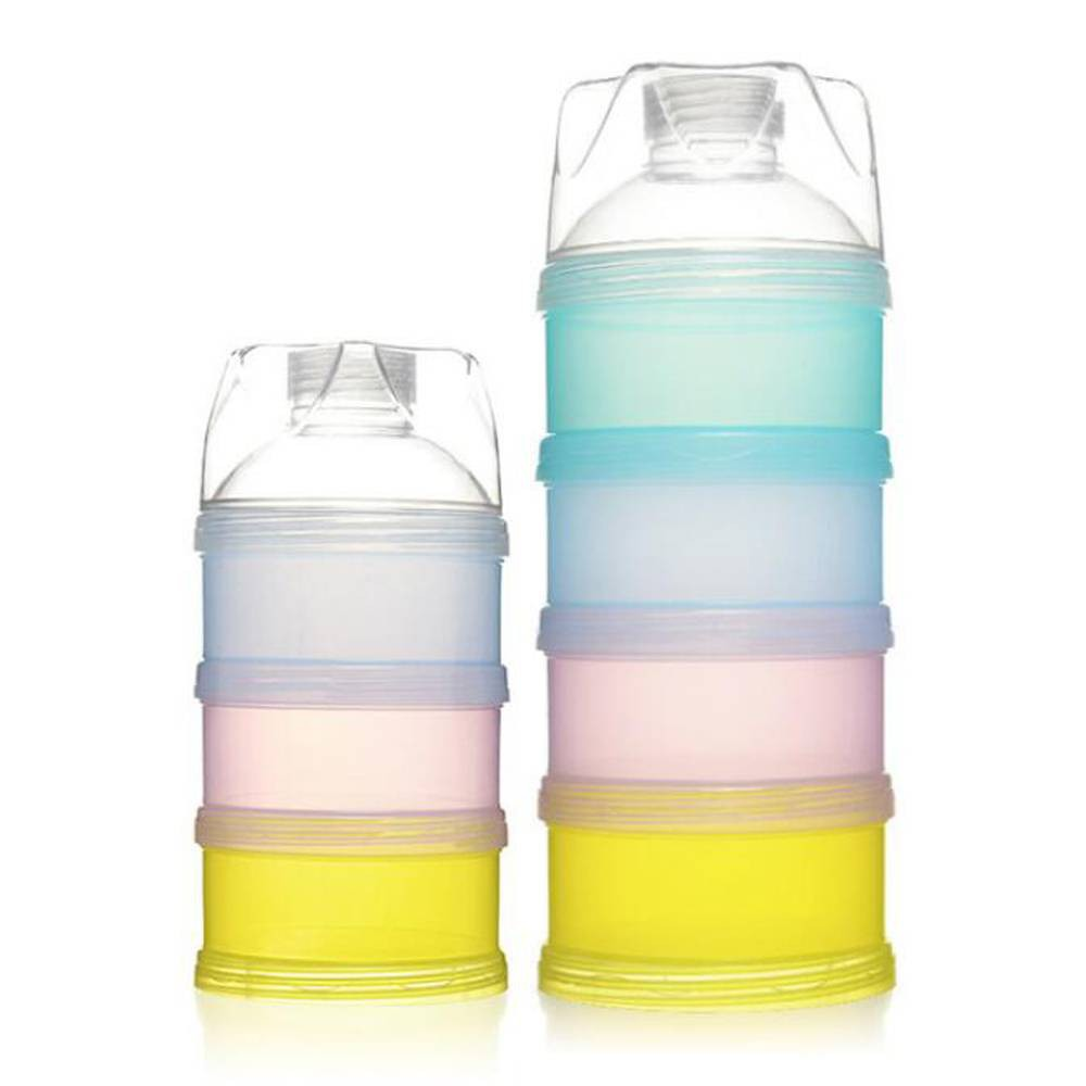 afe9984b2de0 Baby Formula Dispenser Stackable Milk Powder Storage Snack Container
