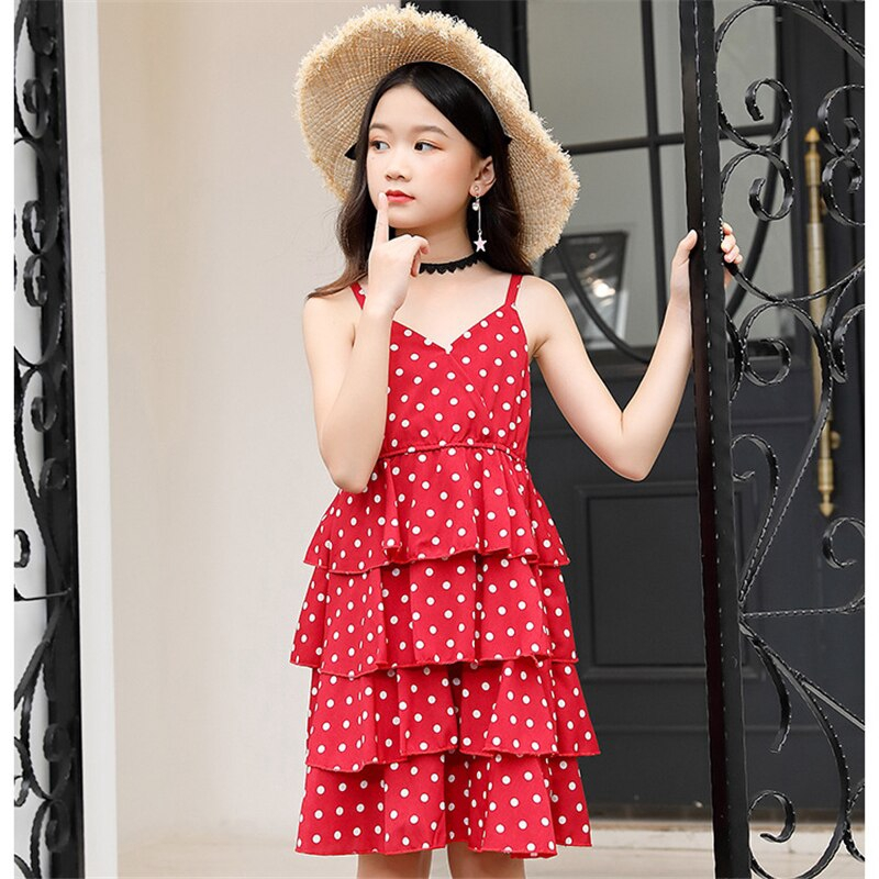 Kids Baby Girls Lace Floral Party Dress Short Sleeve Solid Fringe Skirts Dresses